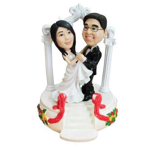 Figurine de mariés personnalisée