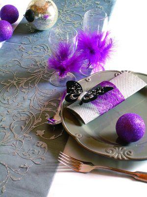 Chemin de table orient pour mariage