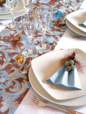 Chemin de table renaissance pour mariage