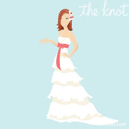 Avatar de mariée sur theknot.com