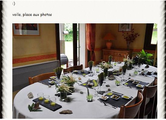 Blog Chemins de table et de photos