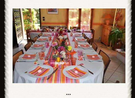 Blog de décoration de table