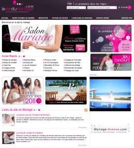 page d'accueil du site marions-nous