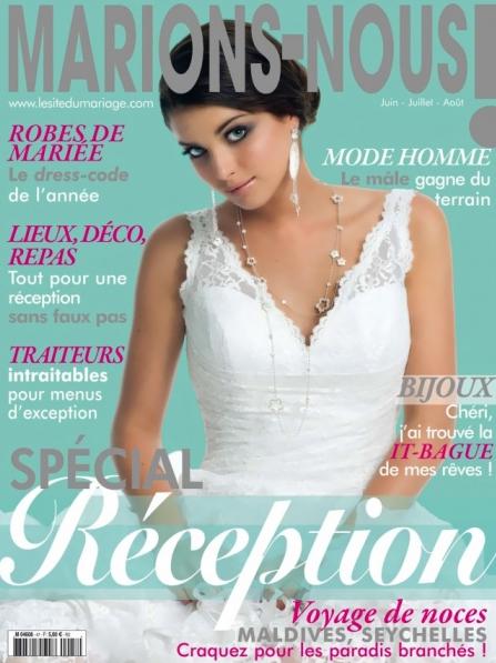 couverture du magazine marions-nous
