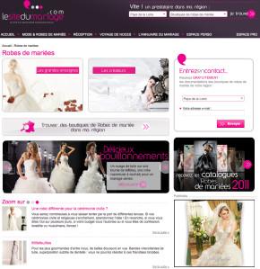robes de mariée du site marions-nous