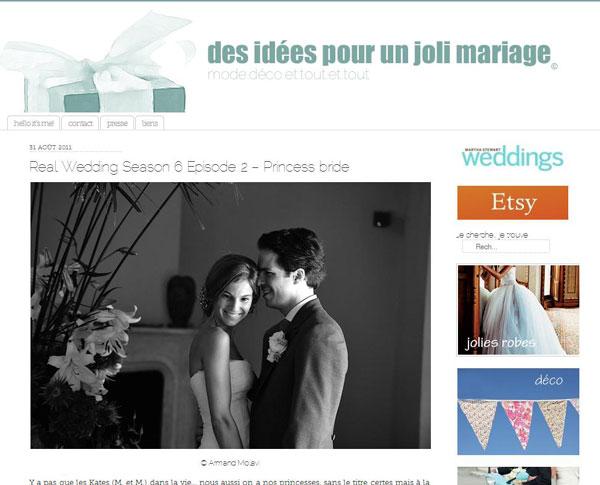 Blog de mariage : Des idées pour un joli mariage