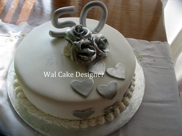 Gâteaux en pâte à sucre pour mariage