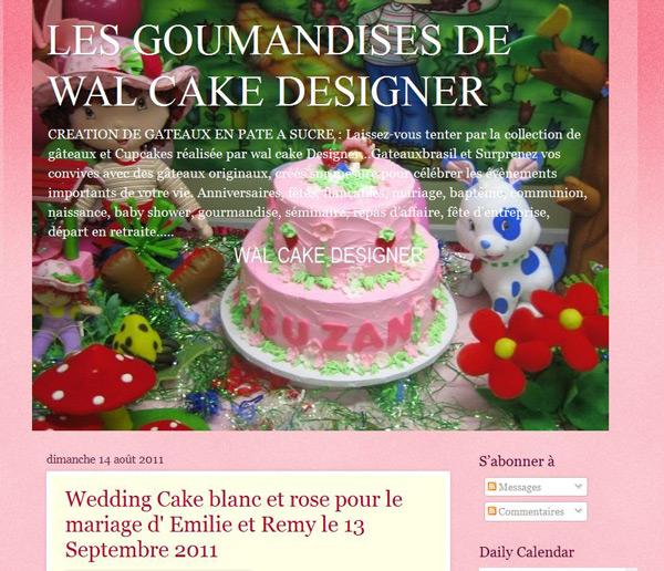 Gâteaux en pâte à sucre pour mariage, anniversaire...