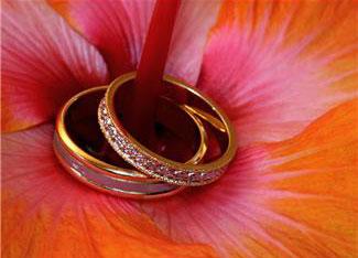 Bagues de mariage