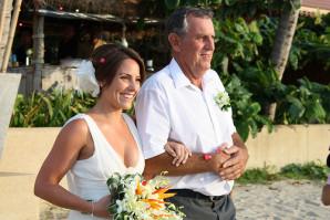 Cérémonie laïque - Arrivée de la mariée