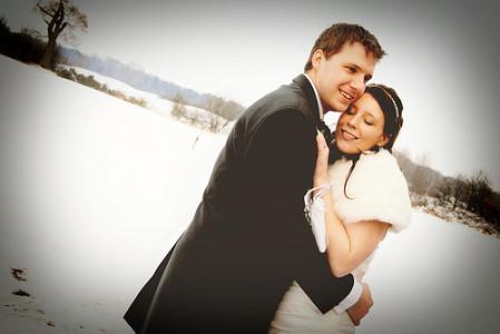 Mariage d'hiver, la nouvelle tendance