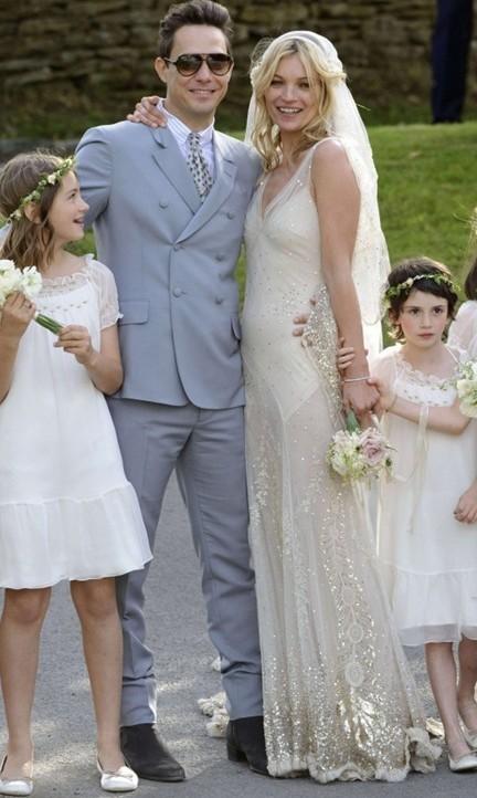 Mariage de Kate Moss et de Jamie Hince