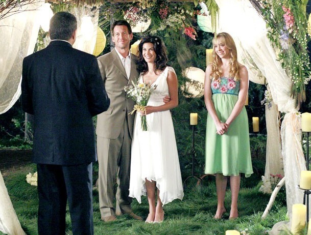 Mariage de Susan et Mike dans la série Desperate Housewives