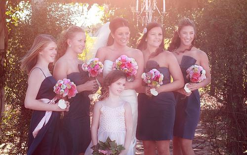 Tradition mariage : les demoiselles d'honneur