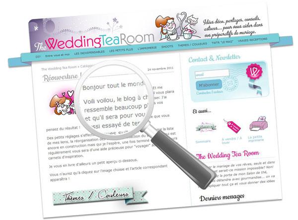 Blog Weddingtearoom décoration table et conseils mariage