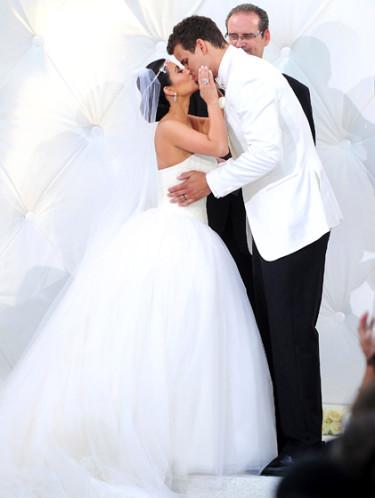 Les mariages les plus marquants de l'année : Kim Kardashian et Kris Humphries