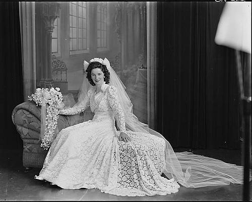 Les robes de mariée... toute une histoire !