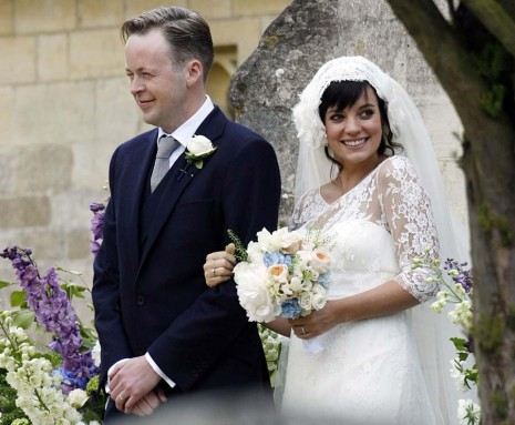Les mariages les plus marquants de l'année : Lily Allen et Sam Cooper