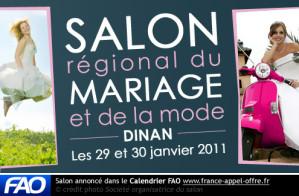 28 et 29 janvier : Salon du mariage et du PACS de Dinan