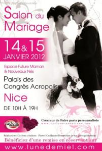 14 et 15 janvier : Salon du mariage de Nice