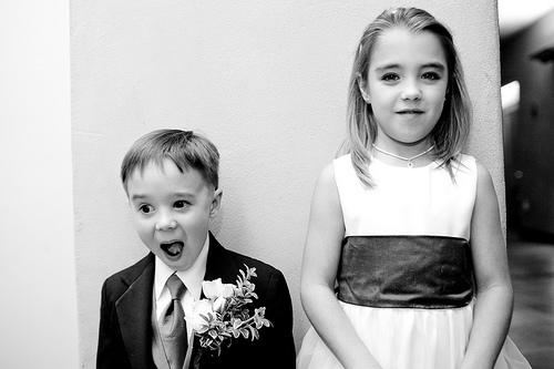 La tenue de vos enfants d'honneur (1ère partie)