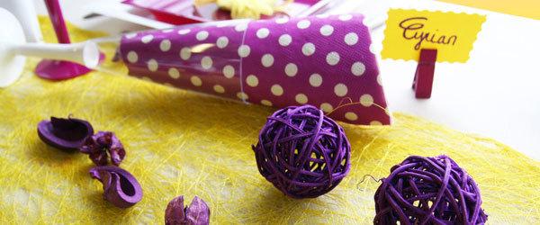 Astuces déco : comment utiliser les boules de rotin ?