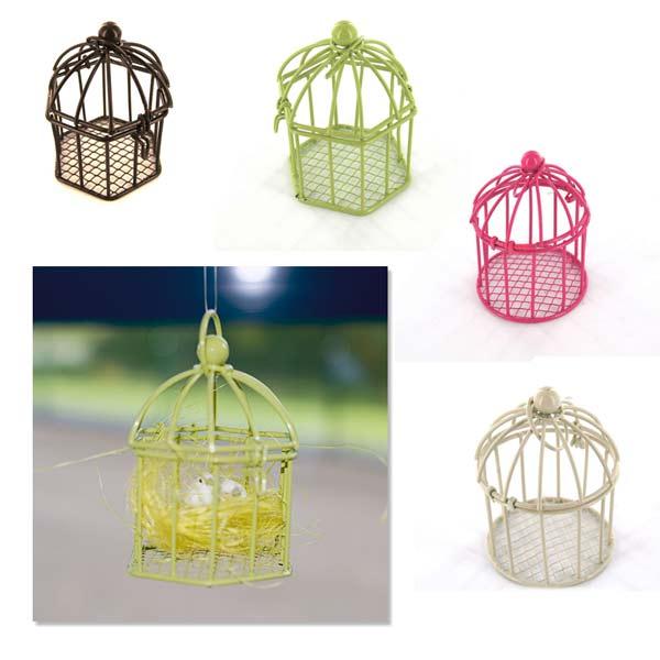 Cage à oiseaux miniatures