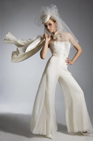 Insolite : se marier en pantalon !