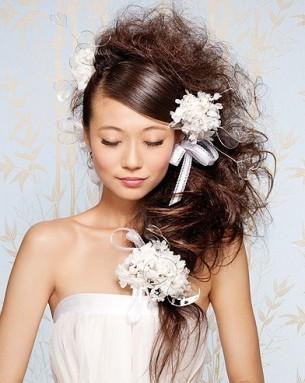 Des coiffures de mariées... originales !