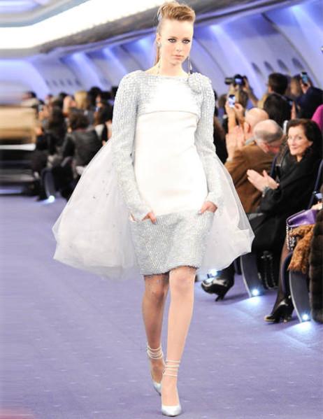 Les nouvelles robes de mariées haute couture - Chanel