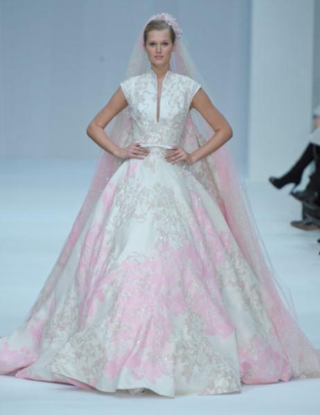 Les nouvelles robes de mariées haute couture - Elie Saab