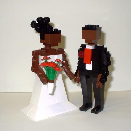 Des figurines lego pour le gâteau de votre mariage - Décoration ...