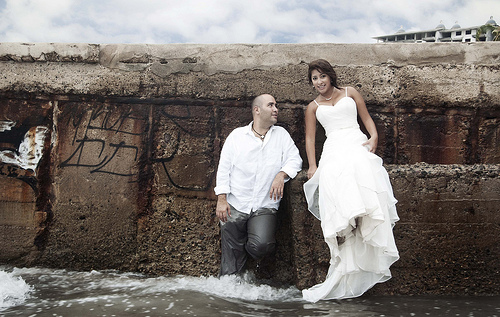 Trash the dress, le grand plongeon !