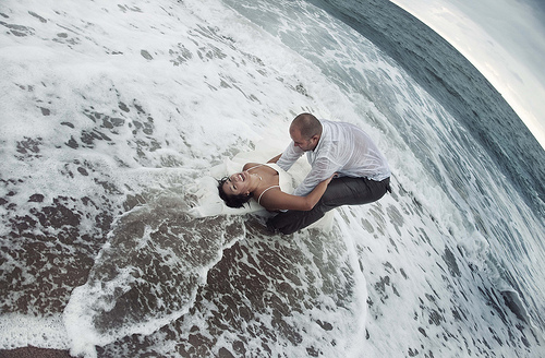 Trash the dress, le grand plongeon !
