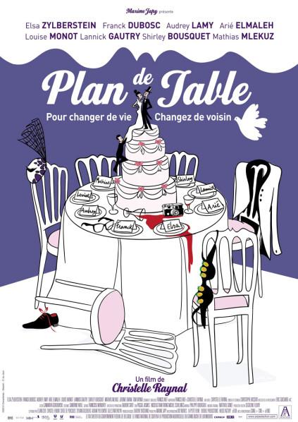 Cinéma-riage : Plan de table