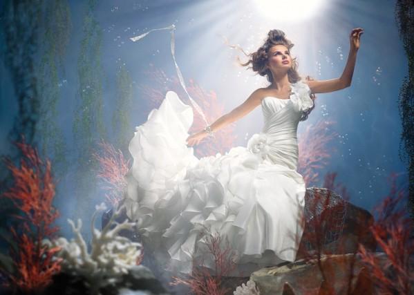 Robe de mariée - La Petite Sirène