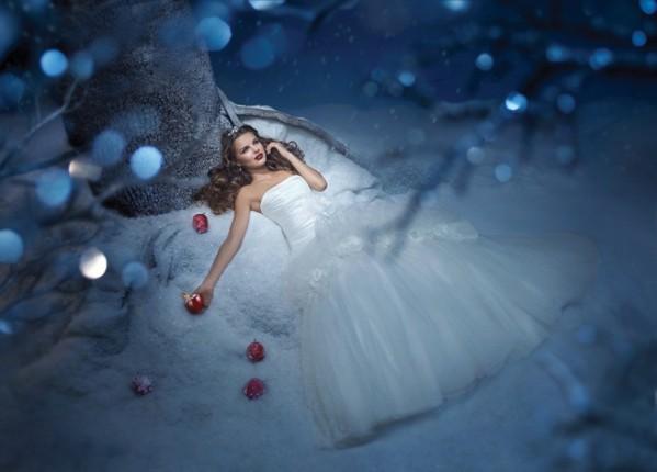 Robe de mariée - Blanche-Neige et les 7 nains
