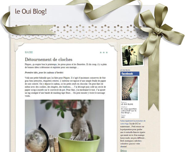 Le oui blog