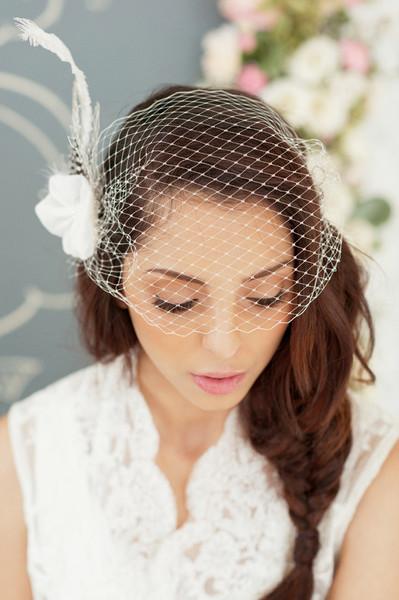 Accessoires de coiffures de mariée : le voile