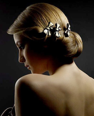 Accessoires de coiffures de mariée : les barrettes