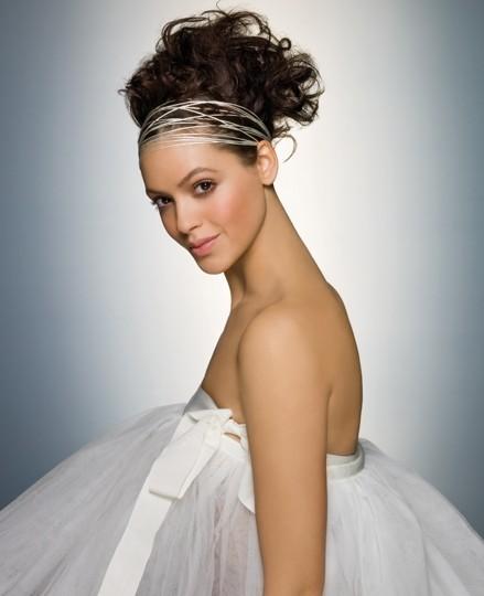 Accessoires de coiffures de mariée : les bandeaux