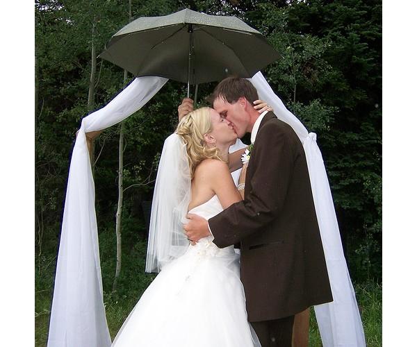 Et si la pluie s'invitait à votre mariage ?