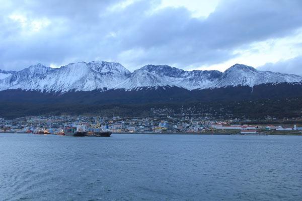 Port d'Ushuaia, en Argentine