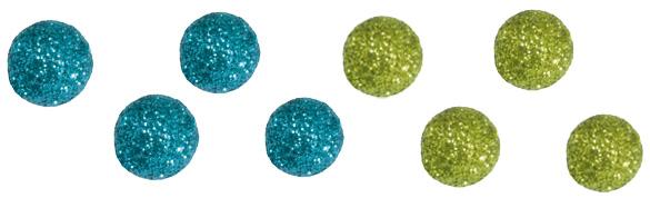 Boules pailletées
