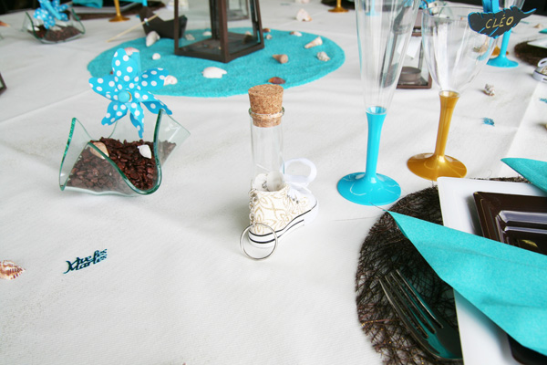 Decoration mariage entre terre et mer