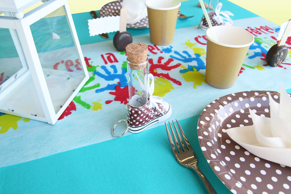 Décoration de table de mariage pour enfants