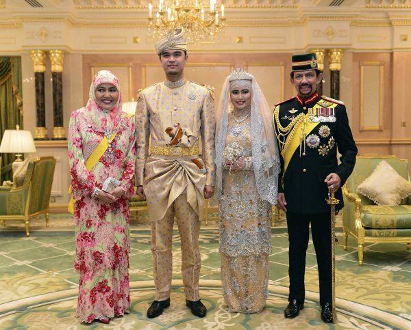 L'incroyable mariage de la fille du Sultan de Brunei !