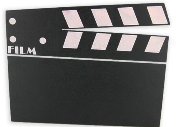Clap de cinéma décoratif