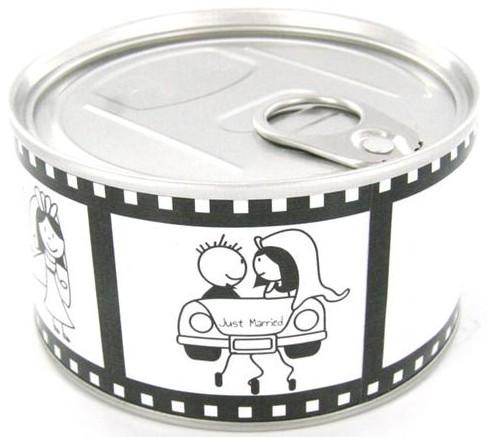 Boîte de conserve spécial mariage