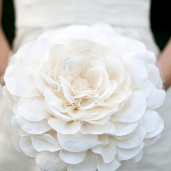 Une fleur de mariée